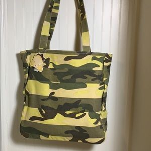 Harajuku Lover Serious Camouflage Tokyo Tote Large